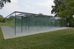 Robert Morris's Glass Labyrinth